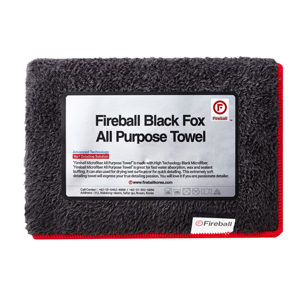 Fireball-Black-Fox-All-Purpose--Towel